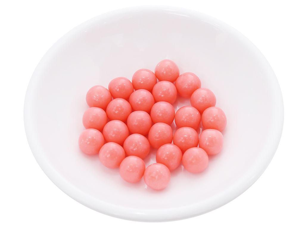 Kẹo gum bong bóng Lotte Fusen Nomi hương dâu hũ 15g 7