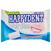 Singum Happydent White hương Peppermint vỉ 11.2g