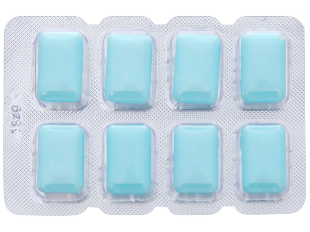 Kẹo gum không đường Lotte Xylitol hương Fresh Mint vỉ 11.6g 5