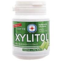 Kẹo cao su không đường Lotte Xylitol vị chanh, bạc hà 58g