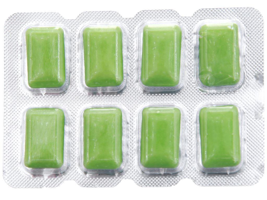 Kẹo gum không đường Lotte Xylitol hương Lime Mint vỉ 11.6g 3