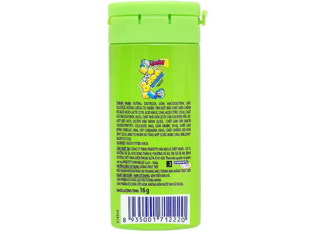 Kẹo gum thổi Big Babol hũ 16g (giao màu ngẫu nhiên) 2