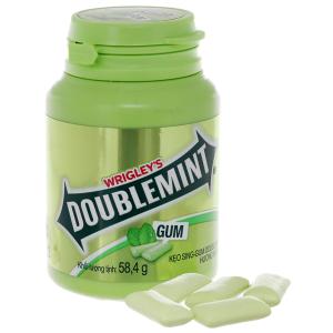 Kẹo cao su Double mint bạc hà 58.4g