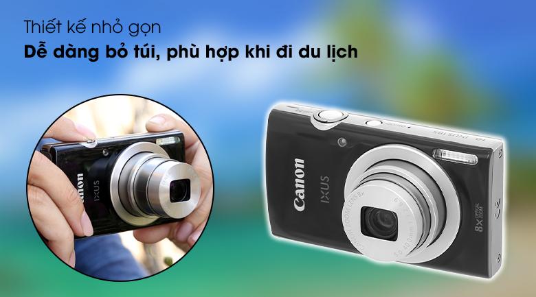 Thiết kế siêu gọn nhẹ, thuận tiện di chuyển hay bỏ túi - Máy ảnh Compact Canon Ixus 185
