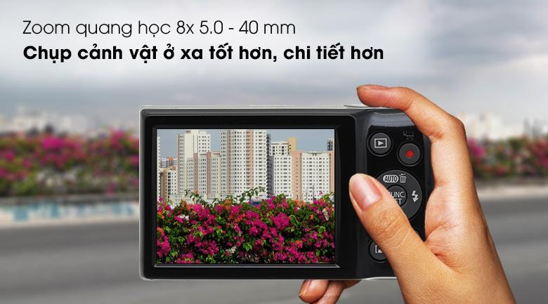 Zoom quang học 8x 5.0 - 40 mm - Máy ảnh Compact Canon Ixus 185
