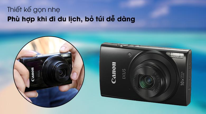Thiết kế siêu gọn nhẹ, dễ dàng bỏ túi - Máy ảnh Compact Canon Ixus 190