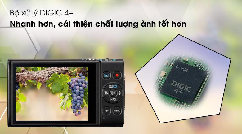 Bộ xử lý DIGIC 4+, chất lượng hình ảnh tốt hơn, xử lý nhanh hơn - Máy ảnh Compact Canon Ixus 285
