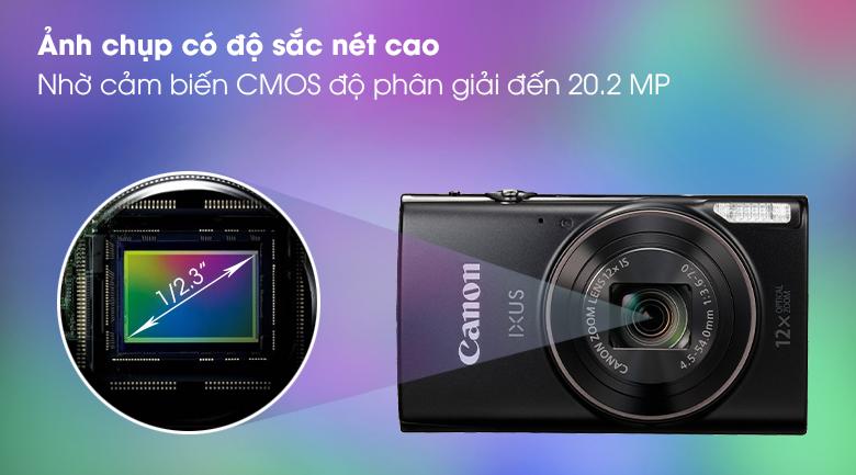 Cảm biến CMOS 1/2.3 inch 20.2 MP cho hình ảnh sắc nét - Máy ảnh Compact Canon Ixus 285