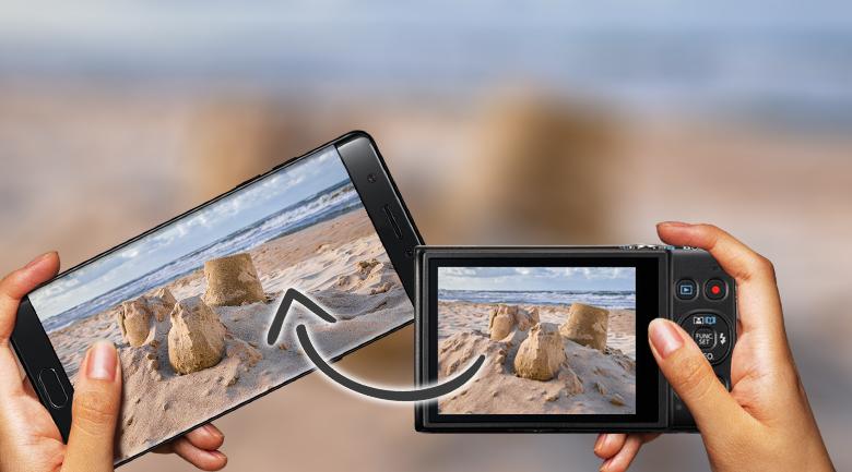Tích hợp WiFi và NFC tiện lợi - Máy ảnh Compact Canon Ixus 285