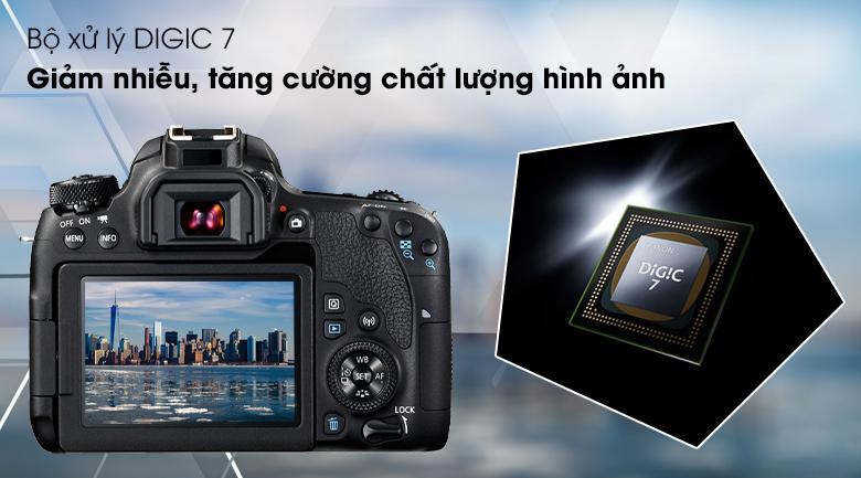 Bộ xử lý DIGIC 7 - Máy ảnh DSLR Canon EOS 77D 18-135 IS STM