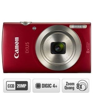 Máy ảnh Compact Canon IXUS 185 Đỏ
