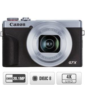 Máy ảnh Compact Canon Powershot G7X MKIII Bạc