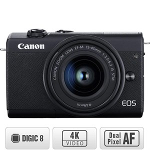 Máy ảnh Mirrorless Canon EOS M200 KIT 15-45 mm