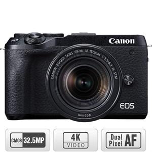 Máy ảnh Canon EOS M6 Mark II Kit 18-150mm Đen