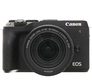 Máy ảnh Mirrorless Canon EOS M6 Mark II Kit 18-150mm Đen