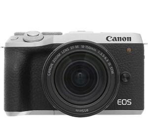 Máy ảnh Mirrorless Canon EOS M6 Mark II Kit 18-150mm Bạc