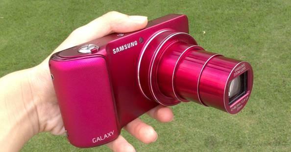 Samsung GALAXY Camera với ống kính siêu zoom 21X