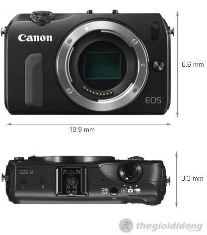 Ảnh kích thước Canon EOS M