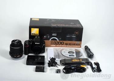 Bộ bán hàng chuẩn Nikon D3200