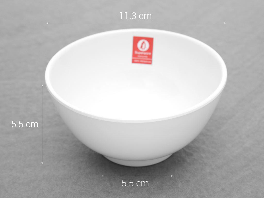 Chén cơm nhựa melamine Superware BV074-4.5 5