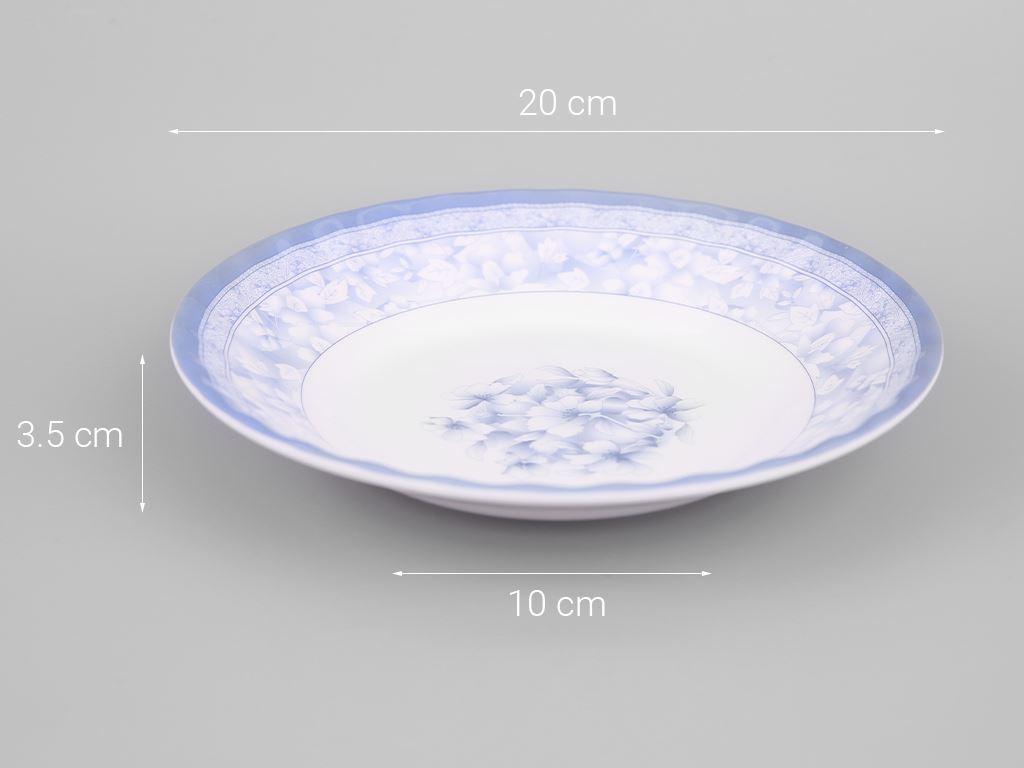 Dĩa nhựa melamine Vinh Cơ VCP01-A508 5