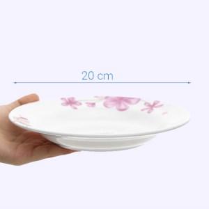 Dĩa nhựa melamine Vinh Cơ VCP02-A5208
