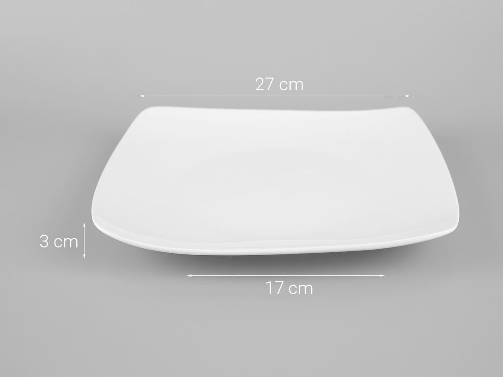 Dĩa sứ vuông Minh Châu MC-DVC28 5