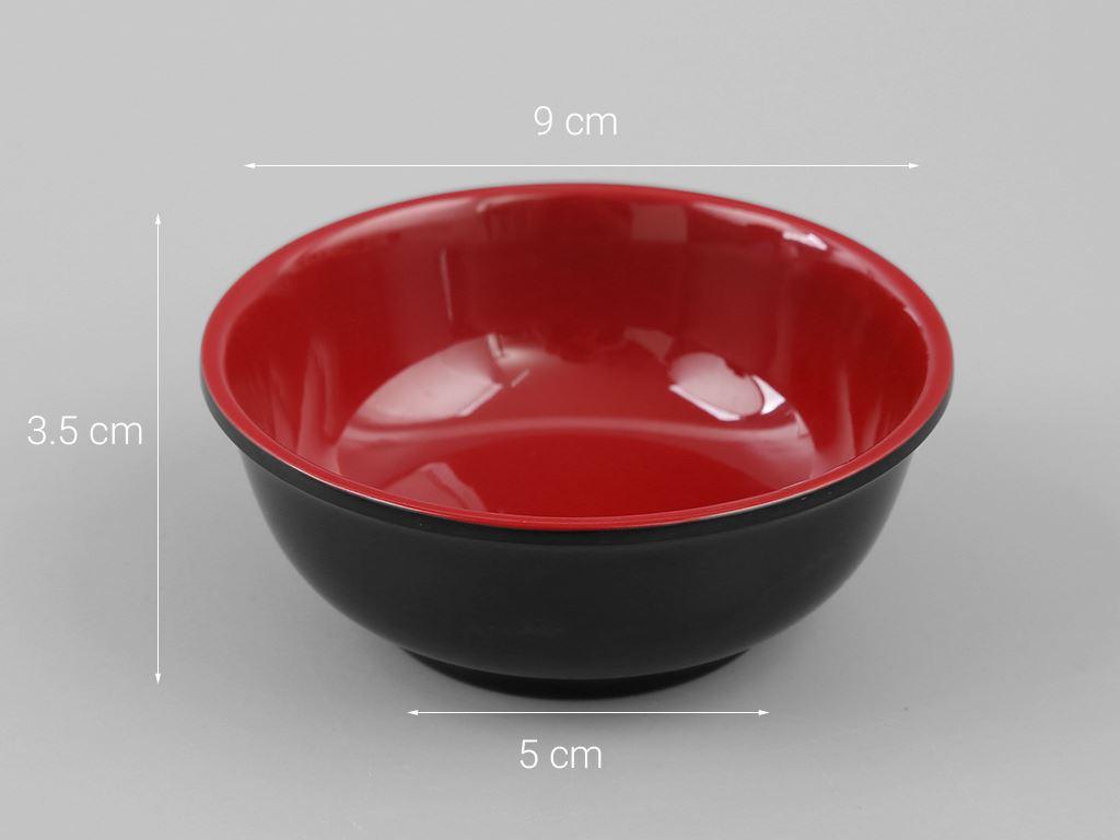 Chén chấm gia vị nhựa melamine Vinh Cơ VCP03-A306 5