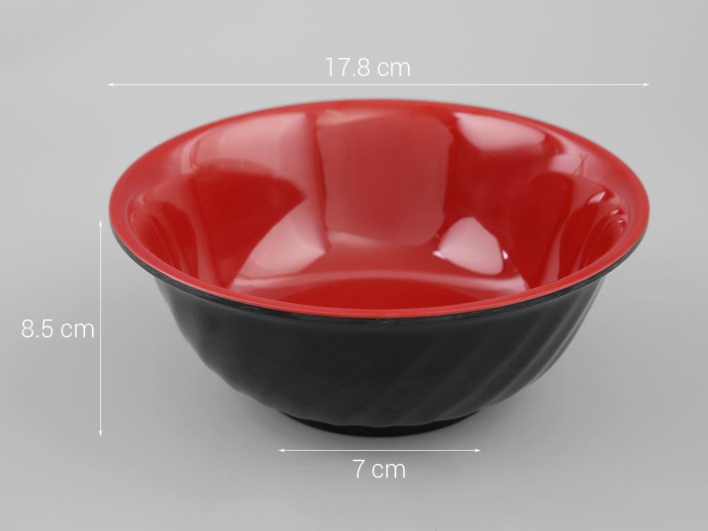 Tô nhựa melamine Vinh Cơ VCP03-A807 5