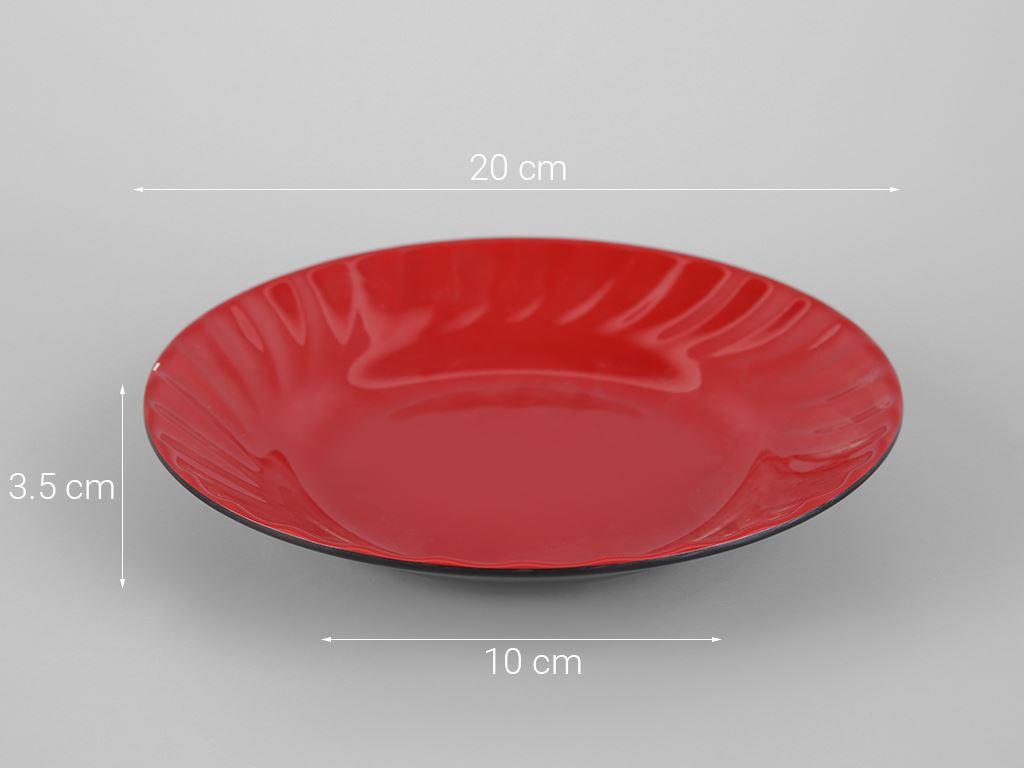 Dĩa nhựa melamine Vinh Cơ VCP03-A508 5