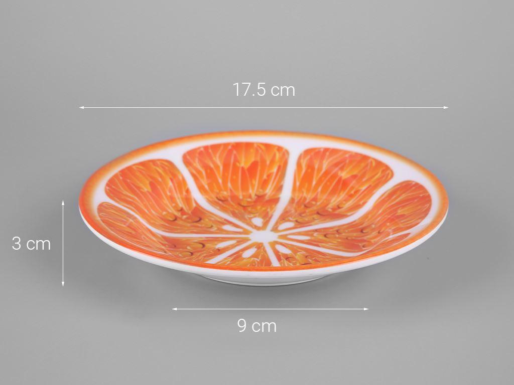 Dĩa nhựa melamine Vinh Cơ VCP04-A5207 5