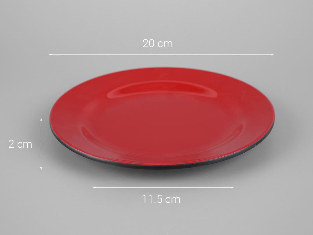 Dĩa nhựa melamine Vinh Cơ VCP03-A6008 5