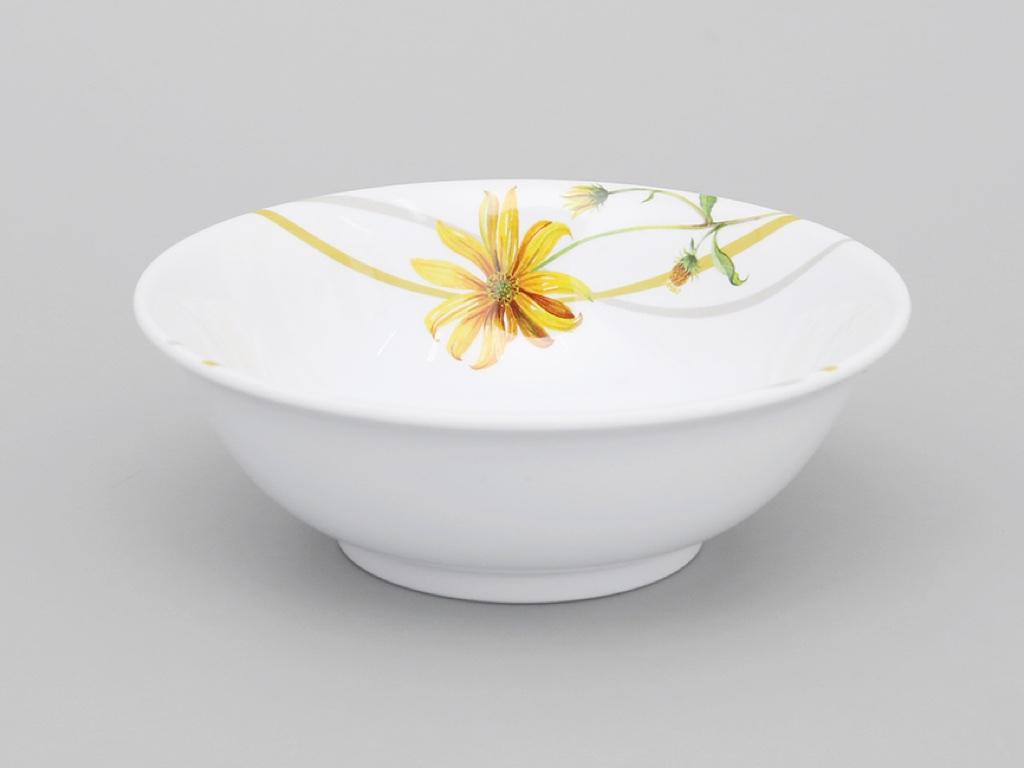 Tô nhựa melamine Vinh Cơ A406 hoa cúc vàng 1