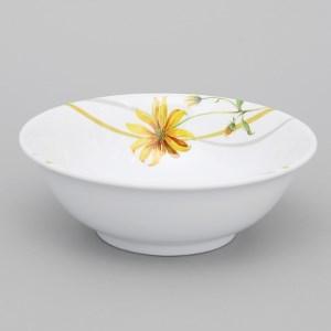 Tô canh nhựa hoa cúc vàng Vinh Cơ A406 15 cm 11.4 cm