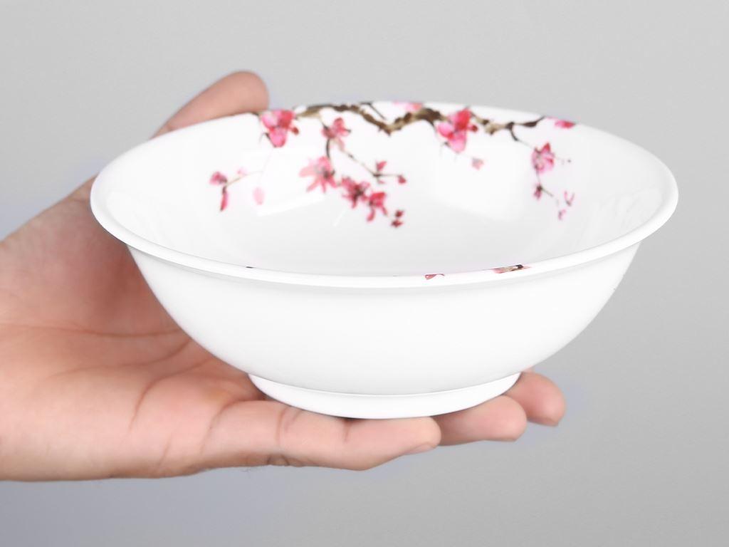 Tô nhựa melamine Vinh Cơ A406 hoa anh đào 4