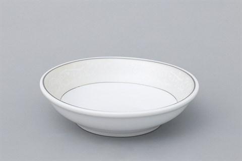 Dĩa chấm sứ 9 cm Minh Châu MC-D02 viền sần 9 cm