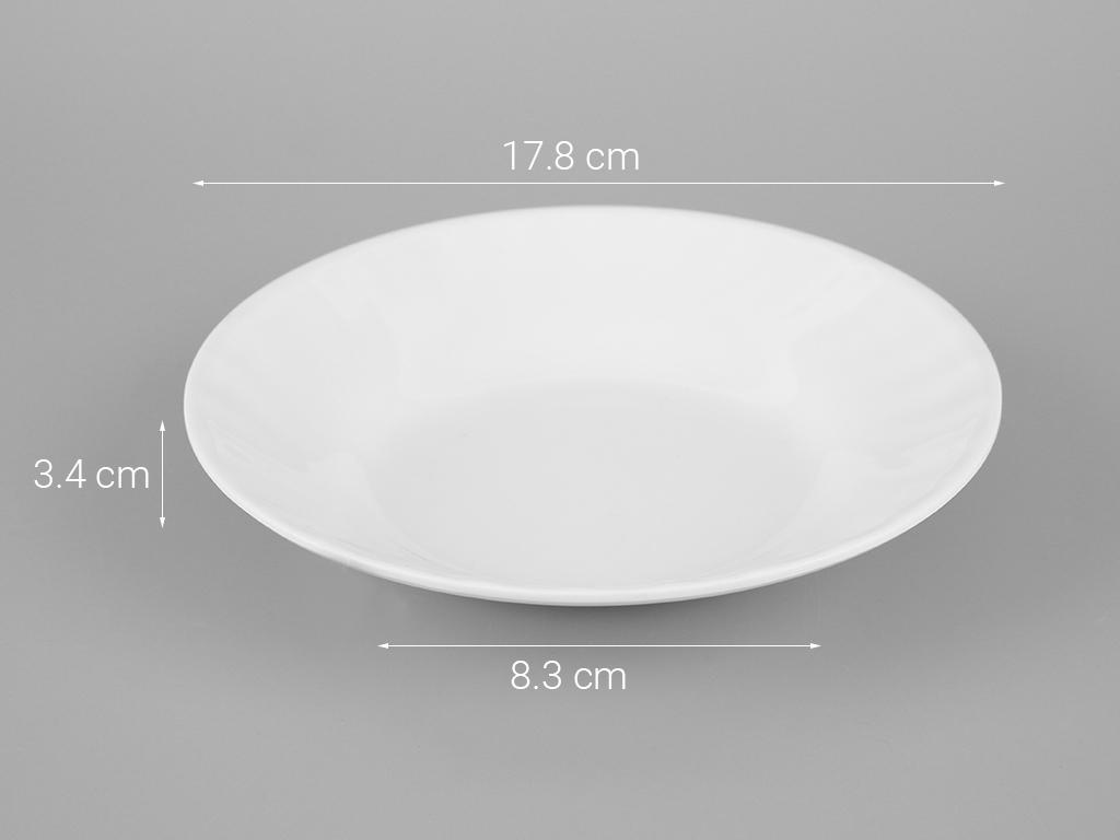 Dĩa nhựa melamine Vinh Cơ 7 A507WA3 5