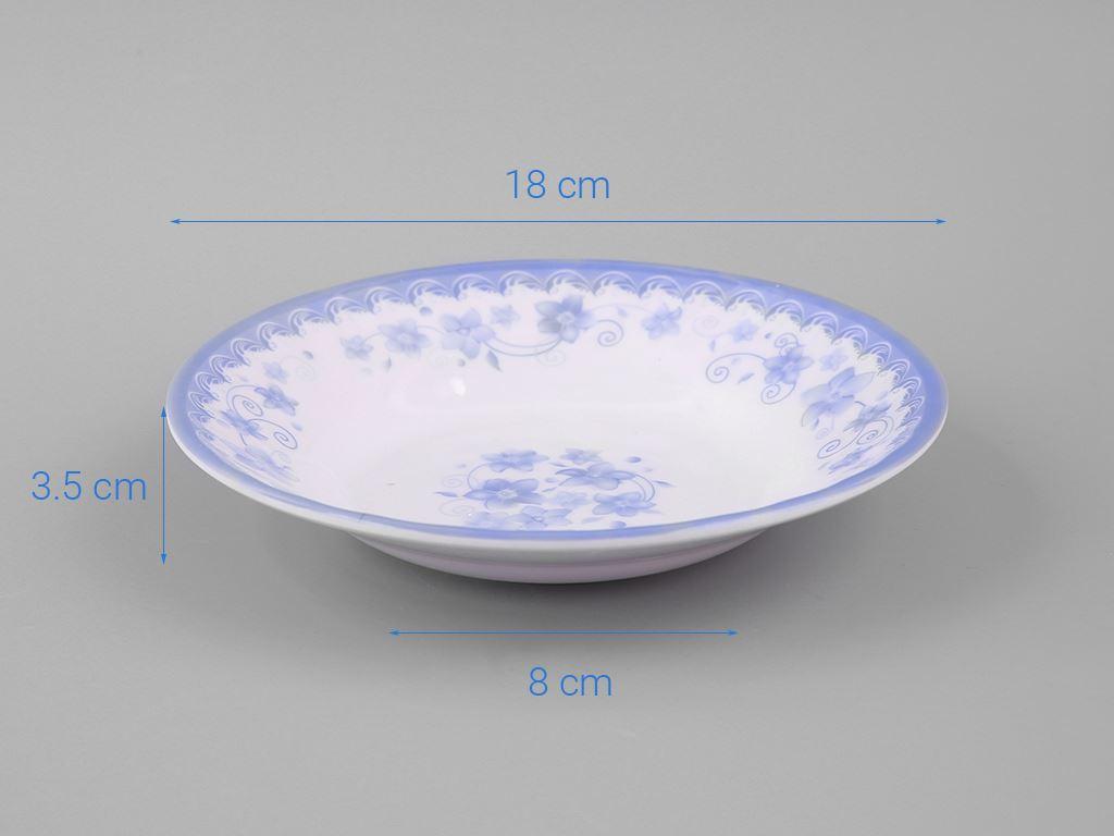Dĩa nhựa melamine Vinh Cơ 7 A507CH 5