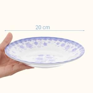 Dĩa nhựa melamine Vinh Cơ 8 A508CH