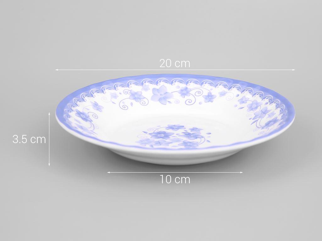 Dĩa nhựa melamine Vinh Cơ 8 A508CH 5
