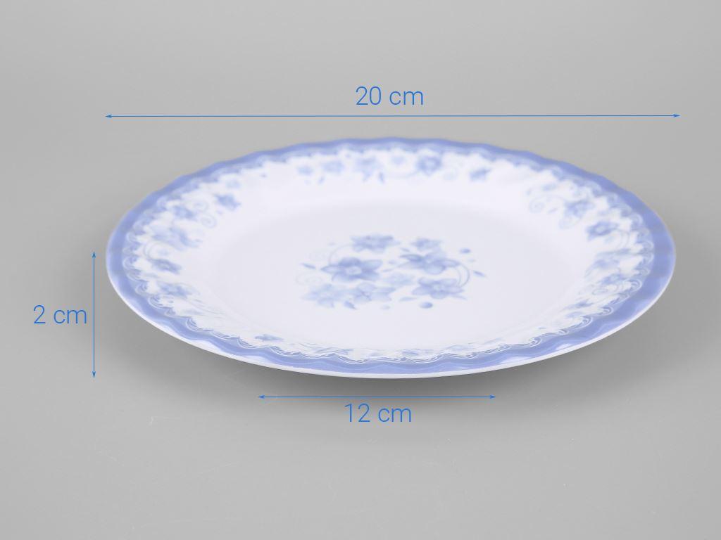 Dĩa nhựa melamine Vinh Cơ 8 A608CH 5