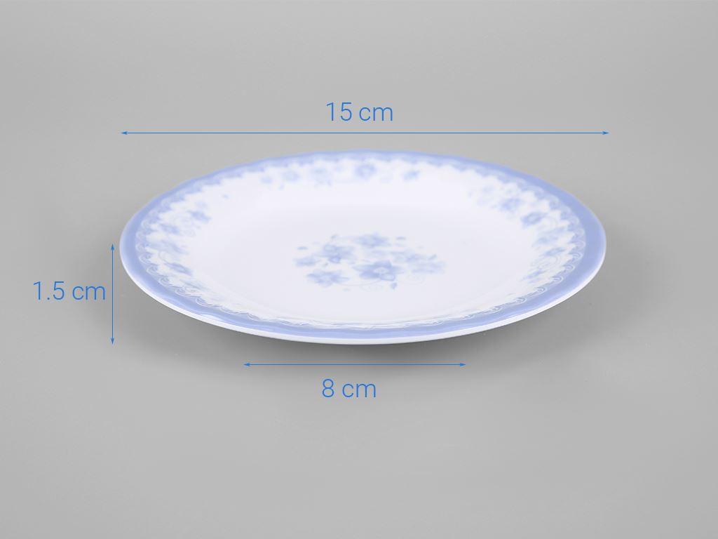 Dĩa nhựa melamine Vinh Cơ 6 A606CH 5