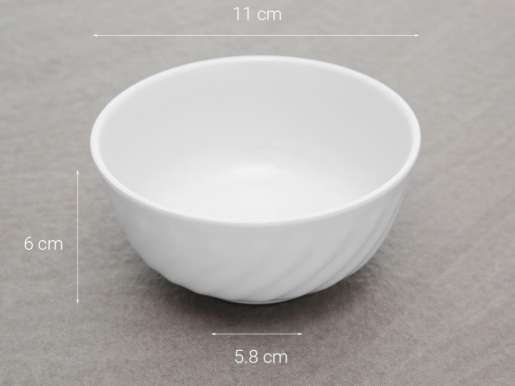 Chén cơm nhựa melamine Vinh Cơ A999 WA3 5
