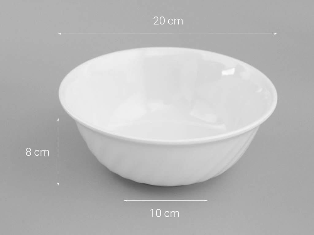 Tô nhựa melamine Vinh Cơ 8 A808WA3 5