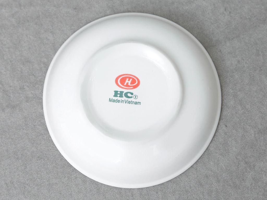 Dĩa chấm gia vị sứ Hảo Cảnh HCC03-H02 3