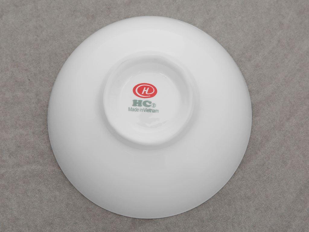 Chén cơm sứ Hảo Cảnh HC01 trắng 3