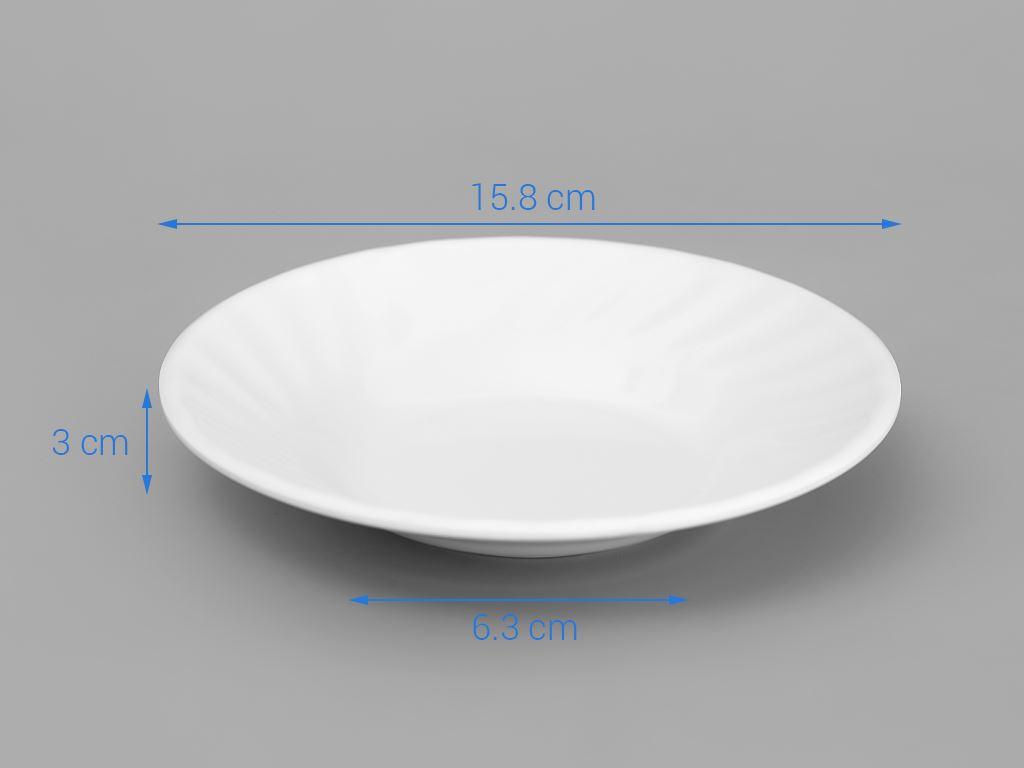 Dĩa nhựa melamine Vinh Cơ A506 3