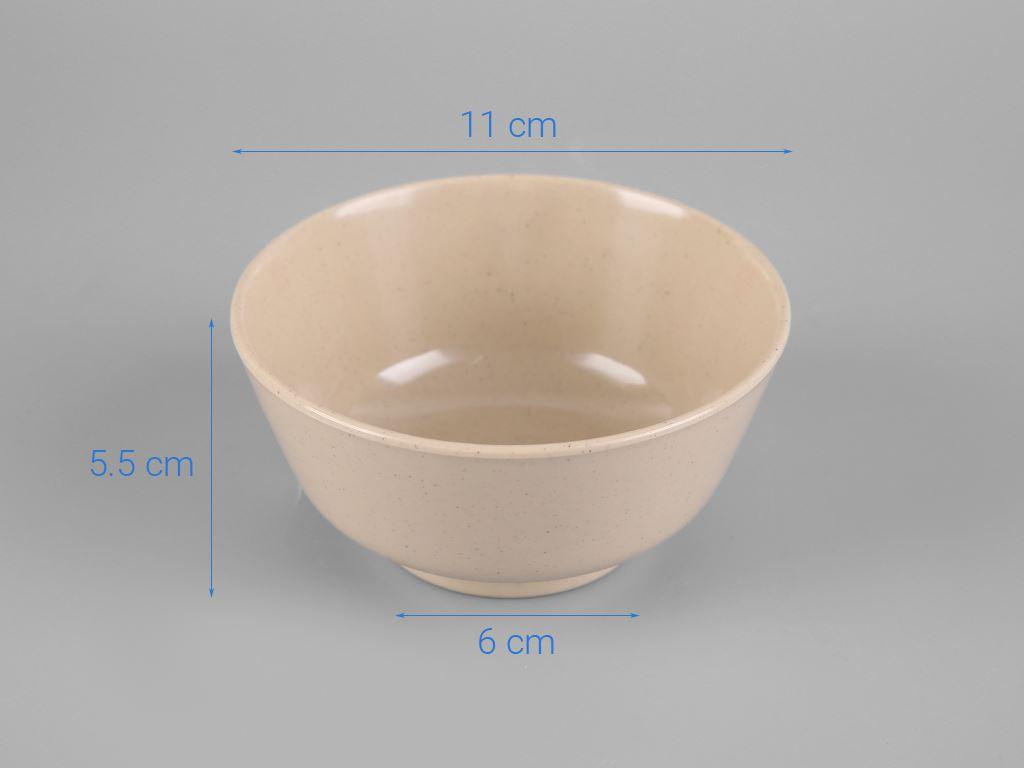 Chén cơm nhựa melamine Superware B417-4.5 5