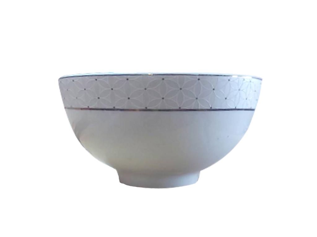Chén cơm sứ Chung Mộc Hùng 11.4cm 1