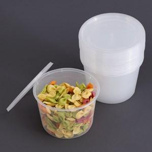 Bộ 10 hộp nhựa dùng được lò vi sóng 600 ml DMX 600 ml